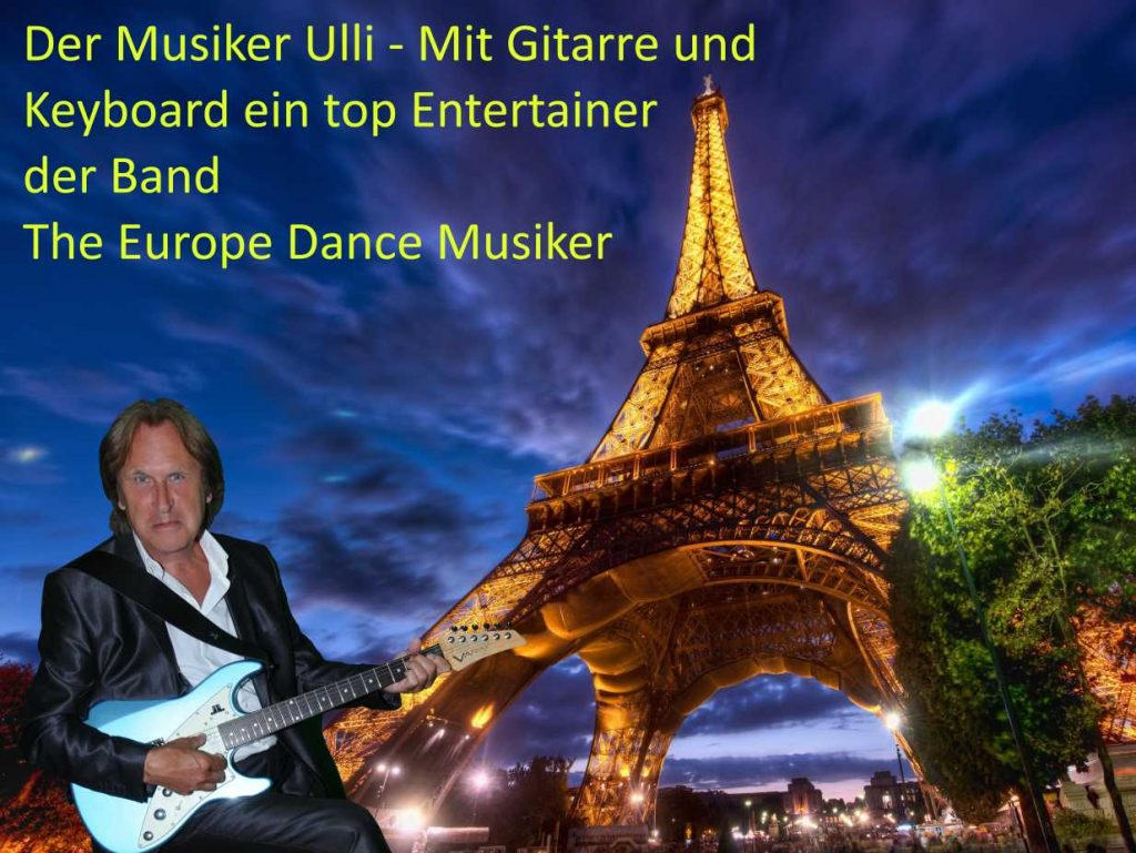 Coverband Würselen und Partyband Würselen Mitglied - Ulli - Gitarrist der Eventband - Hochzeitsband Würselen